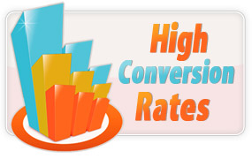 High Conversion Rates
